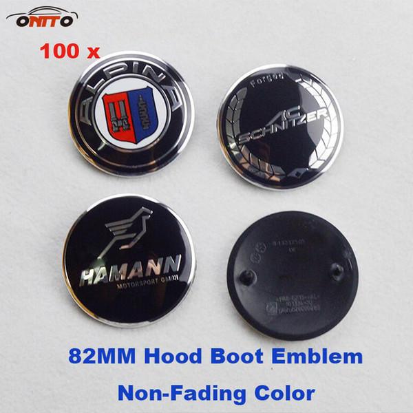 BMW bonnet badge 82 mm-bleu /& blanc-s/' adapte E30 325is série 3
