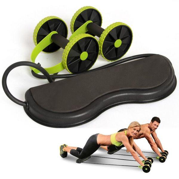 Ab Silindirler Fitness Ekipmanları Karın Egzersiz Eğitmeni Çektirme Rulo Zayıflama Kas Eğitmen Egzersiz Aracı Direnç Bantları