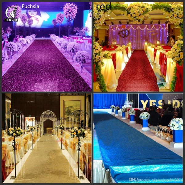Free Shipping Fashion Wedding Decor Pearlescent Carpet 1.4 m Wide Shiny Aisle Runner For Festival Wedding Decoration Props