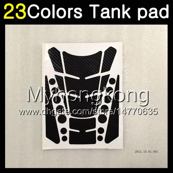 23Colors 3D Carbon Fiber Gas Tank Pad Protector For HONDA CBR400RR NC29 CBR400 RR CBR 400 RR 95 96 97 98 1995 1996 1998 3D Tank Cap Sticker