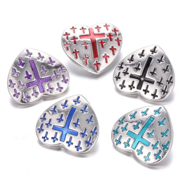 Bottone a pressione in metallo 18mm con bottone a pressione per gioielli con bottone a pressione da 18 mm