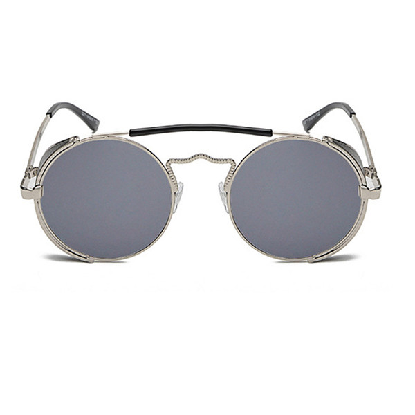 C2 Silver Frame Grey Lens