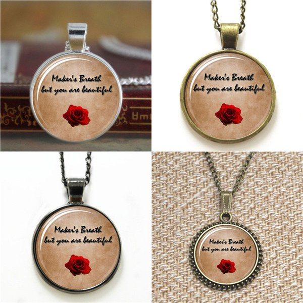 10pcs Dragon Age Alistair's Rose Quote pendant Necklace keyring bookmark cufflink earring bracelet