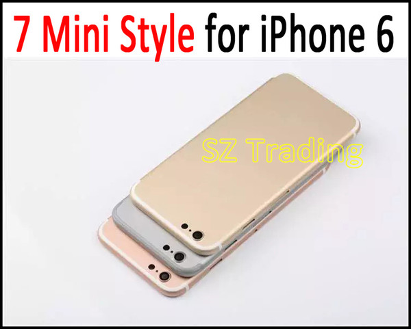 Make Your 6G 4.7 Like 7G Style Back Housing For iPhone 7 Style Battery Door Replacement Singapore Post Free Shipping