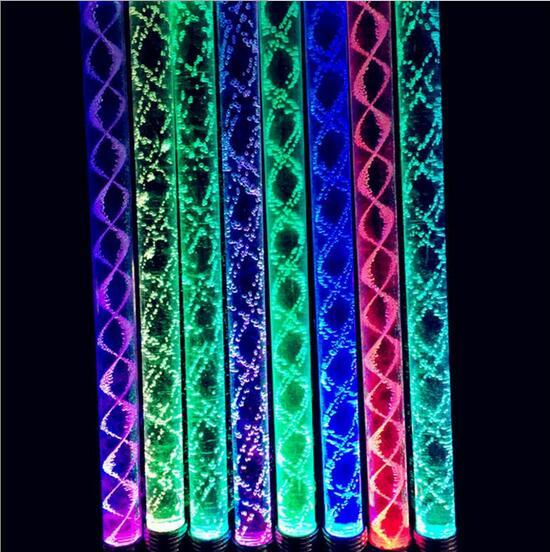 Led Stick 7 Colors Changing 26CM Acrylic LED Glowing Sticks Light Up Toys Bachelorette Party Christmas Party Ornament YH306