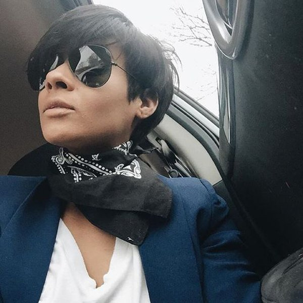 Cheap Pixie Cut short glueless lace front human hair wigs for african americans Easy restyle Celebrity wig