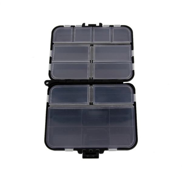 Wholesale- New Arrival Waterproof Fishing Lure Tackle Hook Bait Storage Box Case 16 Compartments free shipping