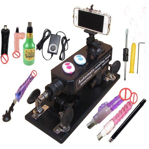 Sex Machine with Accessories