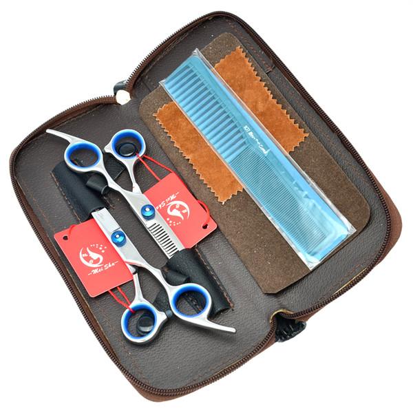 6.0Inch Meisha Haarschere Set Beauty Salon Schneidescheren Friseur liefert JP440C Friseur Schere Effilierschere, HA0116