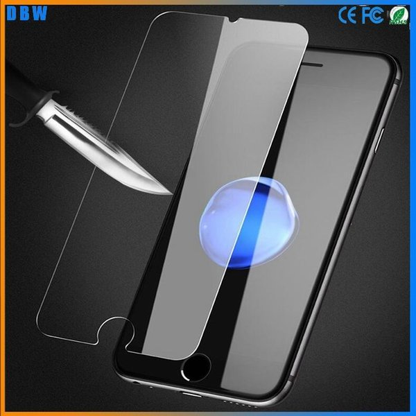 9H 2.5D 0.26mm universal tempered glass for iphone 6 6s 7