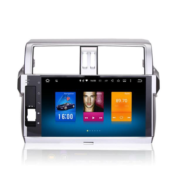 Per Toyota Prado 150 2014+ Android 6.0 Octa Core Autoradio Car Stereo Navigazione GPS Sistema multimediale multimediale Navigatore NO DVD