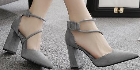 ab2283dd0f502f New Lady Dress Shoes Sandals Women Pumps Heels Suede Pointed Toe Thin High  Heels Festival Party Wedding Shoes Formal Pumps Sandals GWS103 Cute Shoes  Leather ...