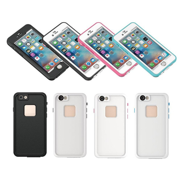 New Fashion Ultra Thin Hard Cases For iPhone7/7 Plus Waterproof Case Life Durable Shockproof For iPhone 5S 6S 25pcs