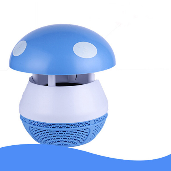 Mini Mosquito Killer Lamp LED Night Light Insect Photocatalyst Flycatcher Fly Pest Killing Safe And Clean