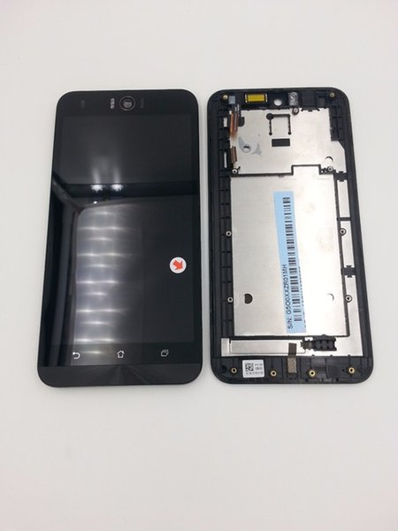 Wholesale- For ASUS Zenfone Selfie ZD551KL ZE551KL New Full LCD Display Monitor + Touch Panel Screen Digitizer Glass Assembly with Frame
