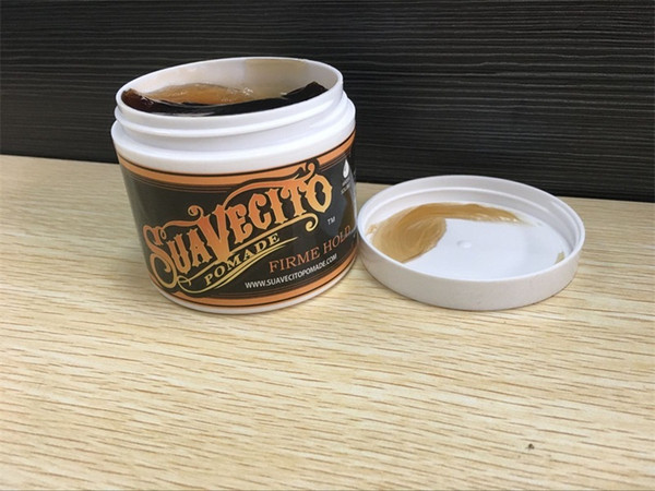 Hot Suavecito Pomade Gel 113g Strong Style Restoring Ancient Ways is Big Skeleton Hair Slicked Back Hair Oil Wax Mud Free Shipping