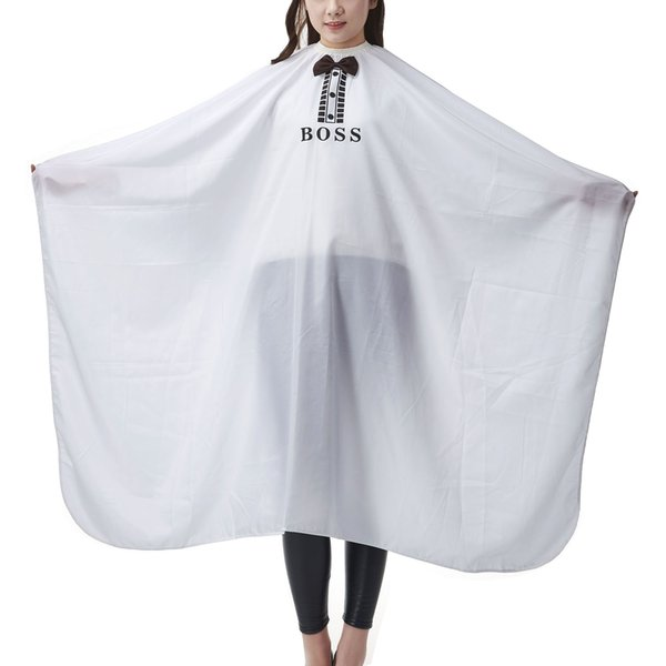 Salon Professional Hair Styling Cape,Large with Bow-tie Boss Hair Cutting Coloring Styling Waterproof Cape Hairdresser Wai Cloth Barber Cape