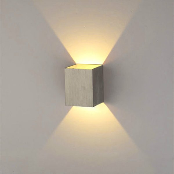 Online cheap 3w led wall lamp with square shape modern household 3w led wall lamp with square shape modern household livingbed room led spot light aloadofball Choice Image