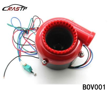 top popular RASTP -Universal Auto Parts Car Fake Dump Valve Electronic Turbo Blow Off Valve Sound Blow Off Analog Sound Bov RS-BOV001 2020