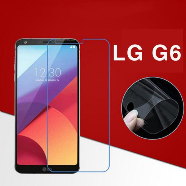 For LG G6 mobile phone protective film HD PET nano-explosion-proof membrane super scratch-resistant 0.1mm ultra-thin soft film mat
