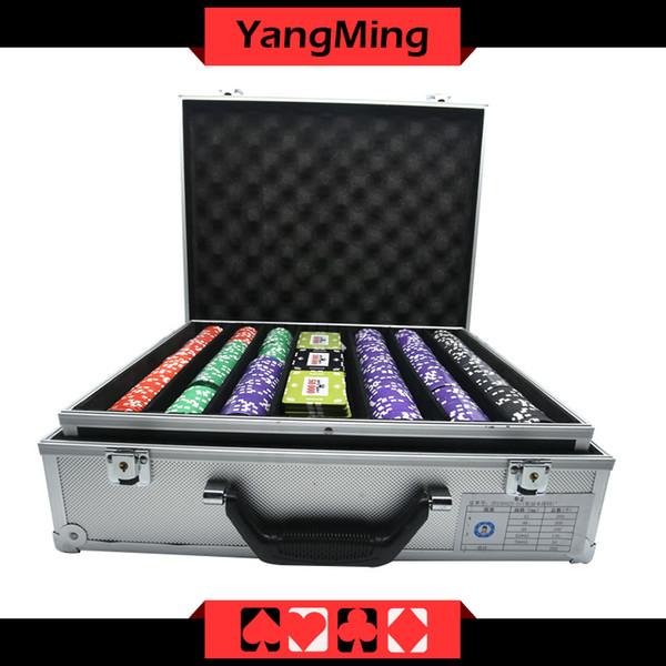 Großhandel Crown Clay Poker Chips Set Casino Pokerchips Ym Sghg004 Von Yangming1688 41207 Auf Dedhgatecom Dhgate