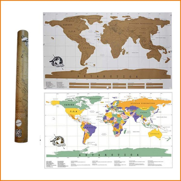 travel scratch off map personalized world map poster traveler vacation log national geographic world map wall