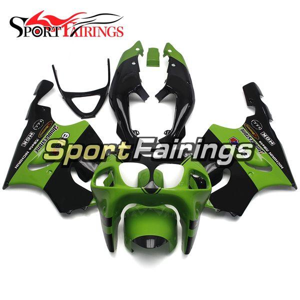 Full Green Black Fairings For Kawasaki ZX-7R ZX7R 96 97 98 99 00 01 02 03 1996 - 2003 ABS Motorcycle Fairing Kit Bodywork Motorbike Cowlings