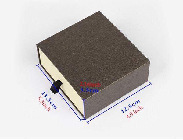 Men's Belt Storage Box For Men Women, 2 Color Drawer Style Belt Gift Packaging Box Organizer (Black Brown)
