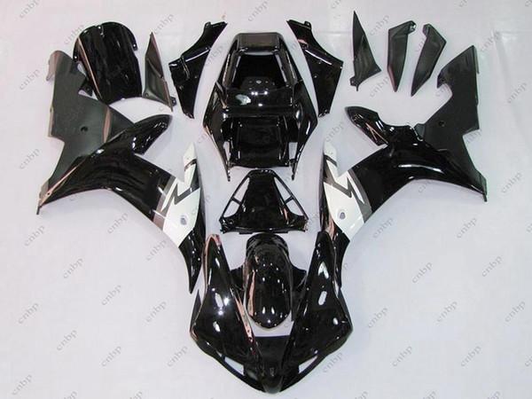 Body Kits YZFR1 2003 Plastic Fairings YZF R1 2002 Black ABS Fairing for YAMAHA YZFR1 02 2002 - 2003