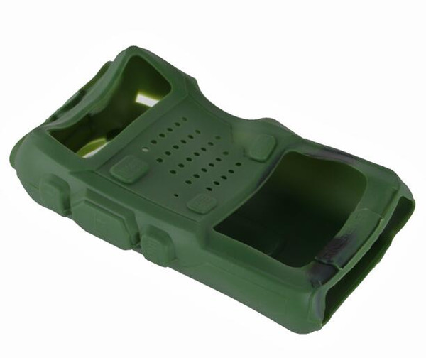 Wholesale- New Soft Handheld Rubber Silicone Case For Baofeng UV-5R UV-5RA UV-5RB UV-5RC UV-5RD UV-5RE BF-F8+ THF8 Radio Bag Case
