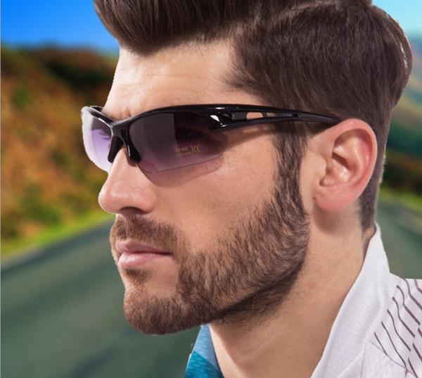 best selling Hot summer Men Driving Cycling Sport Sunglasses Unisex UV Professional Sport Glass Sunglasses Outdoor Bike Eye Wear Sunglasses Free shipping