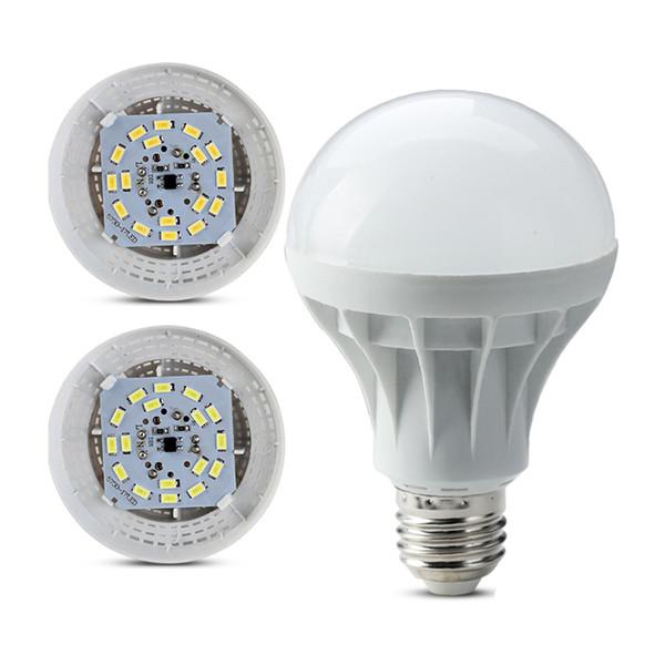 Bombillas LED E27 Globo Bombillas Luces 3W 5W 7W 9W 12W 15W SMD5730 Bombillas LED Warm Cool White Super Bright Light Bombillas Energy-saving Light