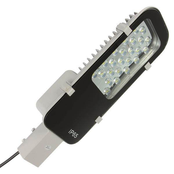 Led lámpara de carretera 24W 30W 50W 100W Led luces de calle Lámpara de carretera a prueba de agua IP65 AC85-265V Led iluminación de alumbrado industrial iluminación exterior