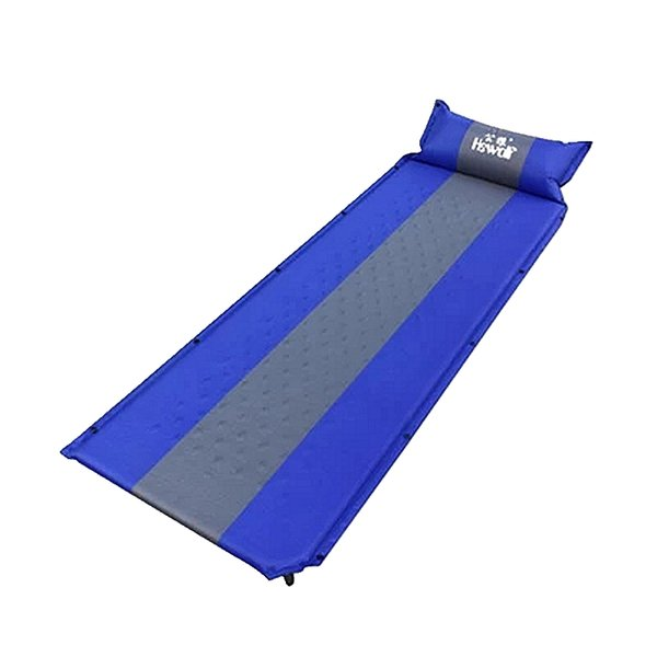 Hewolf Splicing Camping Automatic Mattress Sleeping Dampproof Pad Outdoor Single People Self Inflatable Cushion Including Pillow