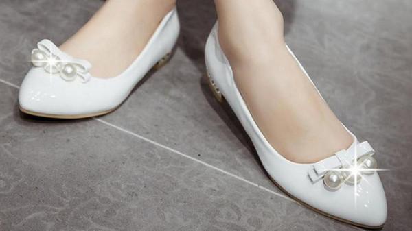 Joker paint low documentary shoes woman point light slip-on loafers FuRuiSource