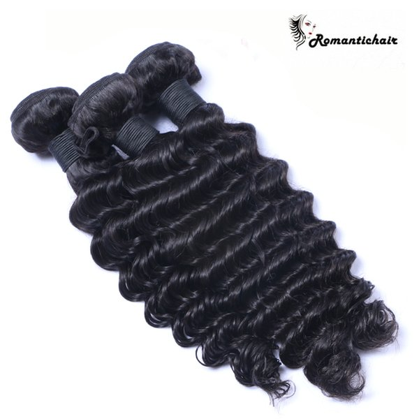 3Bundles 100g pcs Deep Curly Wave Brazilian Peruvian Malaysian Virgin Hair Weave Cheap Deep Curl Remy Brazilian Human Hair Extensions