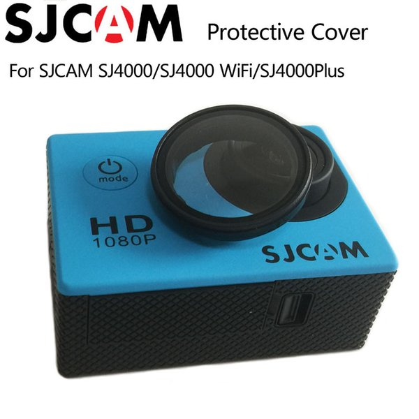 Wholesale- Original SJCAM SJ4000 Accessories UV Filter Glass Lens Protective Cover for SJCAM SJ4000/SJ4000 Wifi/SJ4000 Plus Action Camera