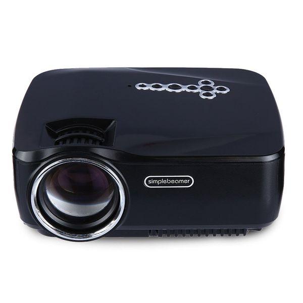 Wholesale-New Ankunft GP70UP Micro Projektor mit Android 4.4 LED Lampe lange Lebensdauer Bluetooth DTV Kinoprojektor