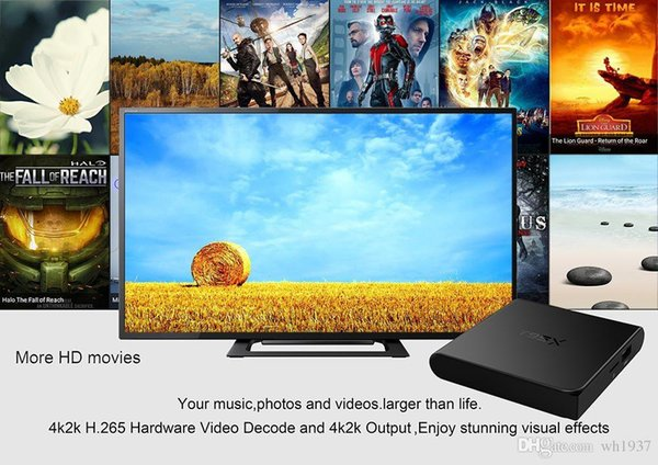 2016 Atv Quad Pit Bike Vtt New T95x Tv Set-top Box S905x Network Player Andrews 6.0 2 + 16g (2.4g) Special Wholesale