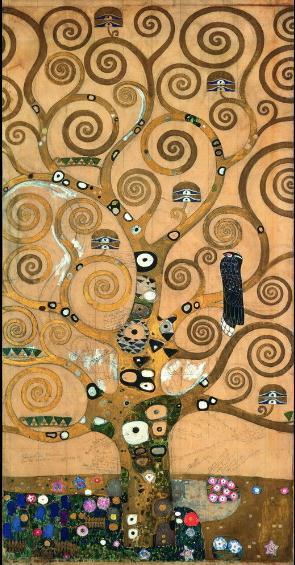 Gustav Klimt Tree of Life Giclee Canvas Print Paintings On High Quality Canvas Multi size berkin