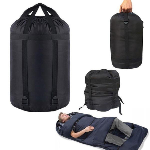 SıCAK SATıŞ Taşınabilir Hafif Sıkıştırma Sayfalar Çuval Çanta Açık Kamp Uyku L Boyutu Kamp Ekipmanları