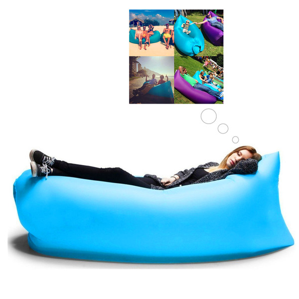 Tremendous Inflatable Air Bed Bag Sofa Fastportable Outdoor Beach Camping Sleeping Lounger Filled Balloon Bed Sleep Chair For Outdoor Activity Picnic Outdoor Pabps2019 Chair Design Images Pabps2019Com