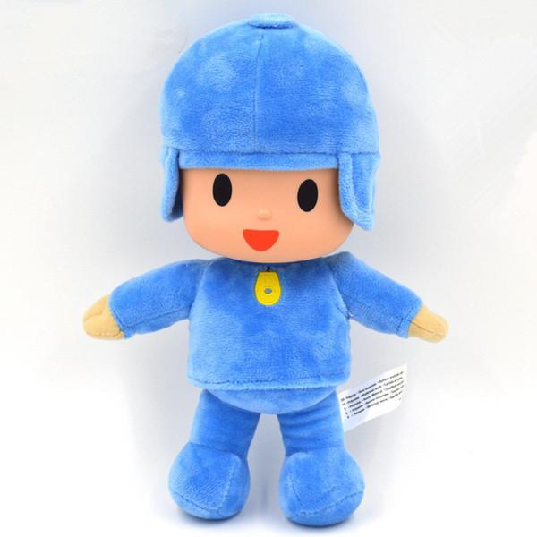 1 pcs 26 cm Pocoyo Stuffed Plush Toys Boneca Bonito Pocoyo Plush Macio Figura Toy para Crianças Dos Miúdos Presente de Aniversário de Natal