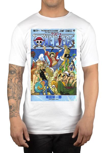 One Piece Crew Party Anime Graphique T-shirt Luffy Chapeau De Paille Manga Japon Vêtements Lâches Coton Bas Prix Top Tee Pour Les Filles
