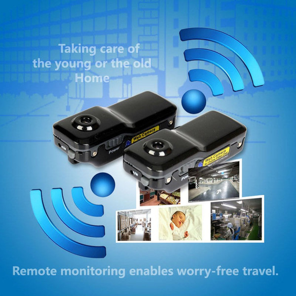 Mini WiFi P2P IP DV Camera Camcorder Motion Detect Video Record Web Cam Wireless Phone Sport Vehicle Baby Monitor TF Card
