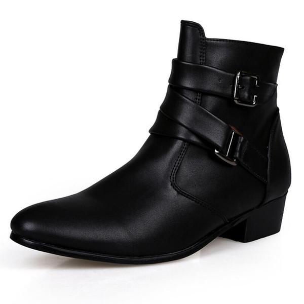 Cheap 2016 Fashion Men Shoes Soft Leather Autumn Boots Men ...