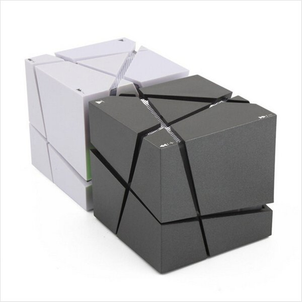 Qone EDGE Mini altoparlante Bluetooth portatile con LED Light Built-in 500mAh Battery Sound Box Mp3 Altoparlanti Subwoofer