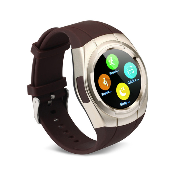 New Style T60 1.2 inch 3D Smart Watch Bluetooth Waterproof Touch Screen Positioning Smart Wearing Watch Support TF/SIM Card