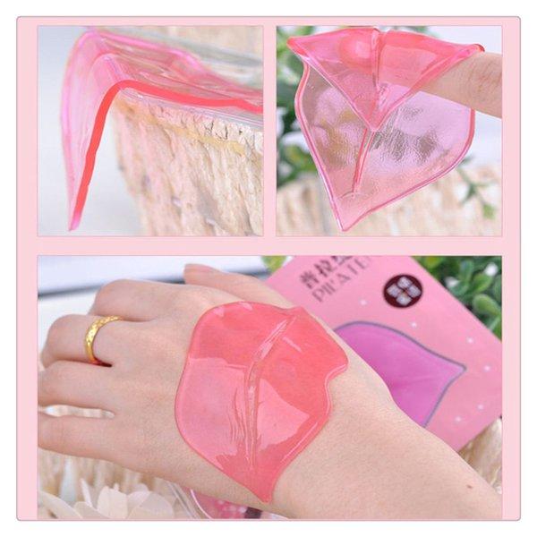 PILATEN Máscaras para labios Crystal Collagen Máscaras para el cuidado de los labios Gel para la piel Pasta para película Membrana Hidratante Labios hidratantes Cuidado Gel