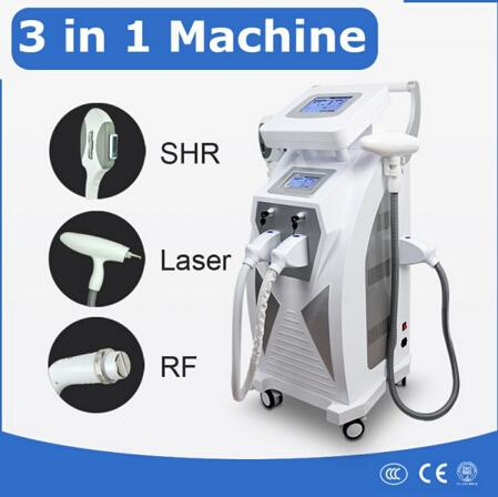 2018 Newest !!! Popular OPT SHR IPL Machine Painfree Permanent Hair Removal Skin Rejuvenation Pigment Therapy Laser Tattoo Removal Machine